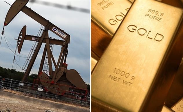 Giá dầu xuống dưới 30 USD, vàng tiếp đà giảm