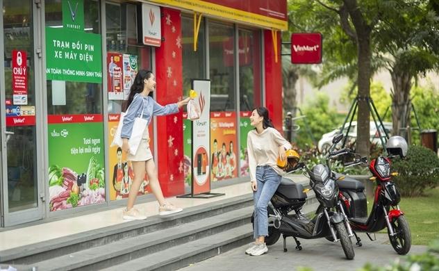 VinFast miễn phí 1 năm thuê bao pin xe máy điện cho 2020 khách hàng, giảm 50% phí thuê bao trong 3 tháng