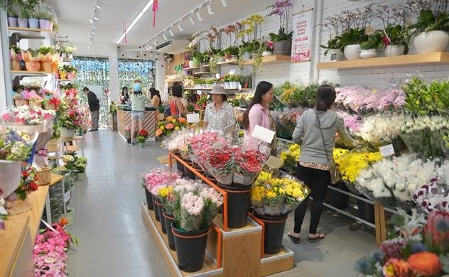 Sau thời gian ế ẩm vì đại dịch, thị trường hoa tươi sôi động trở lại