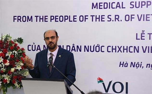 Đại sứ Oman cảm ơn sâu sắc về gói hỗ trợ vật tư y tế của Việt Nam