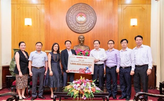 Cộng đồng mạng quyên góp hơn một tỉ đồng cho Quỹ Phòng chống COVID-19