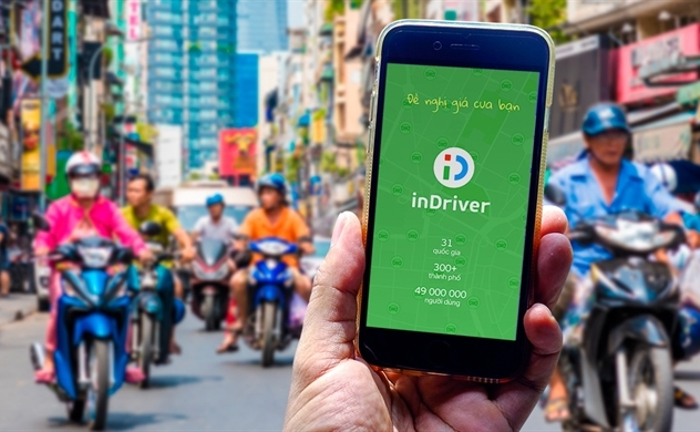 inDriver launches ride-hail service in central Vietnam