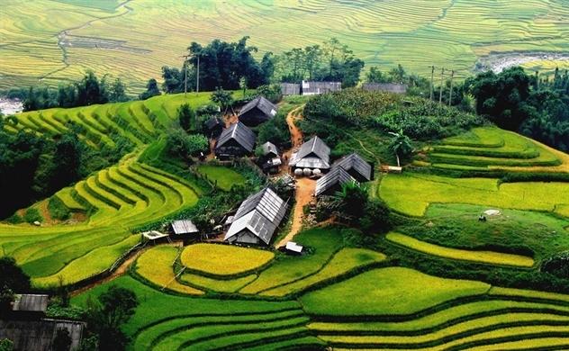 Bản Cát Cát được báo nước ngoài bình chọn là một trong những nơi đẹp nhất nên đến