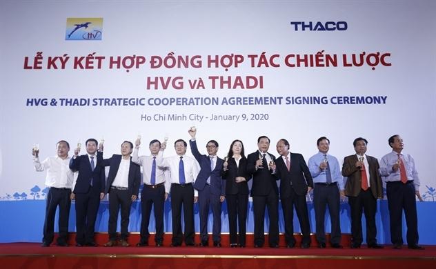 Hùng Vương (HVG) và THADI lập công ty heo giống vốn điều lệ 556 tỉ đồng