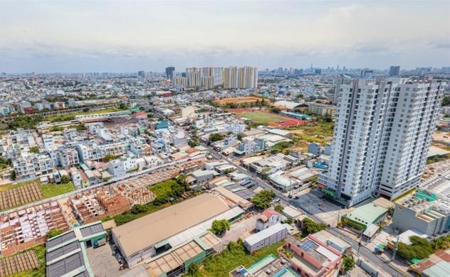 Giải mã biên độ tăng giá bất động sản khu Tây Sài Gòn