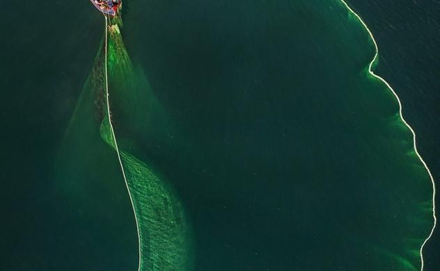 Nhiếp ảnh gia người Việt được báo Anh khen ngợi với bộ ảnh chài lưới đẹp mê hồn