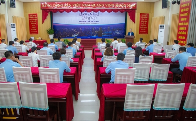 Tổng Công ty Tân Cảng Sài Gòn hợp tác cùng Học viện Doanh nhân MVV khai giảng chương trình