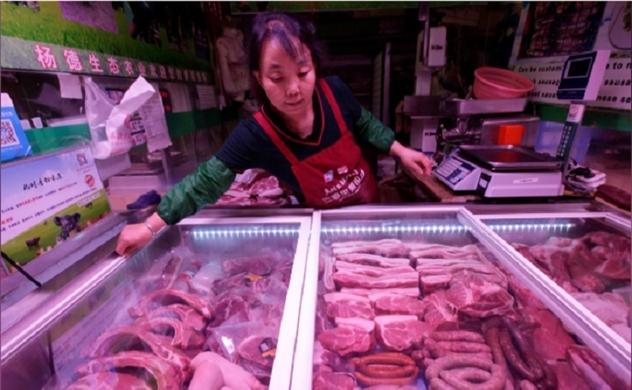 Trung Quốc nhập khẩu thịt lợn trong tháng 4 tăng 170%