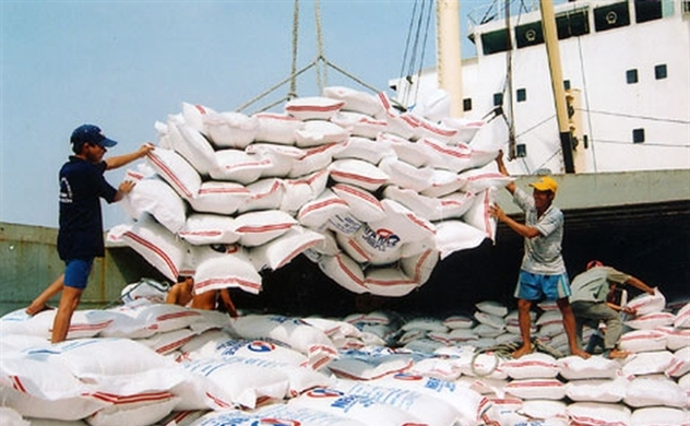 Việt Nam xuất khẩu gạo gần 1 tỉ USD