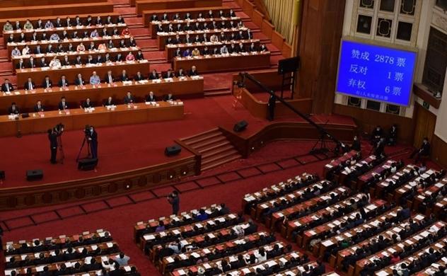 Trung Quốc thông qua Nghị quyết Luật An ninh Hồng Kông