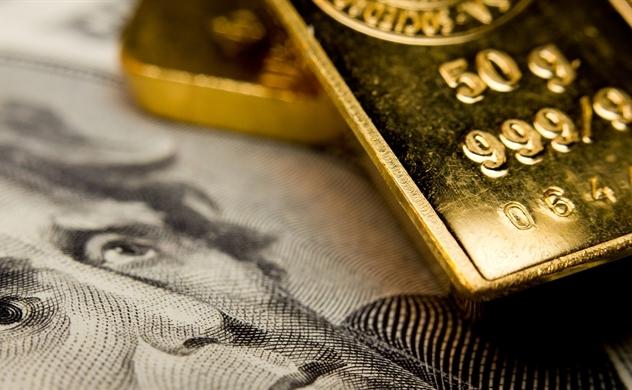 Giá vàng giảm mạnh, USD đi lên