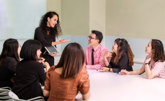 Chuyển đổi đầu tư tại Wall Street English Việt Nam