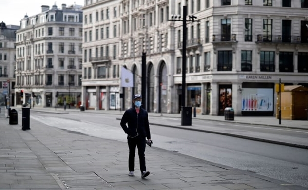 UK economy contracted by 20.4% in April, the largest monthly fall on record
