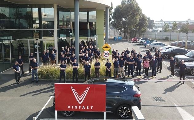 Vietnam's automaker VinFast opens office in Australia