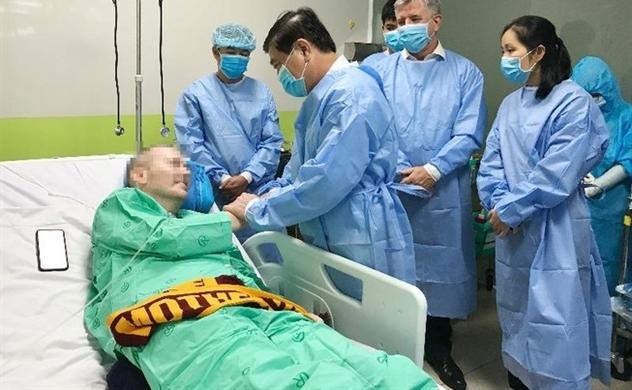 Virus-stricken UK pilot in Vietnam may be discharged from hospital soon