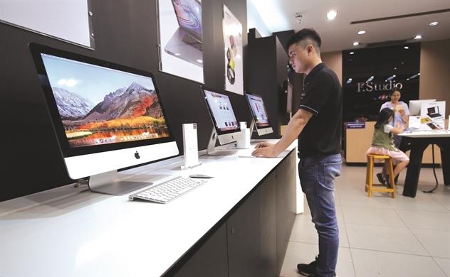 Thêm Digiworld,  Apple tính lớn ở Việt Nam