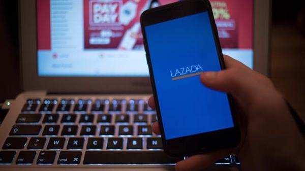 Doanh số bán hàng của Lazada đã tăng mạnh từ đầu tháng 4 nhờ đại dịch COVID-19. Ảnh: CNBC.