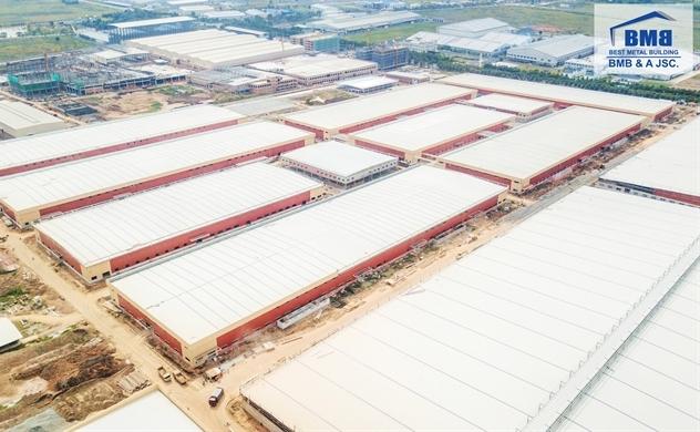 Việt Nam sẽ là một trong những quốc gia nòng cốt trong lĩnh vực nhà thép tiền chế tại khu vực Đông Nam Á