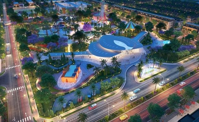 """Gem Sky World - biểu tượng kiến trúc mới của """"thành phố sân bay"""""""