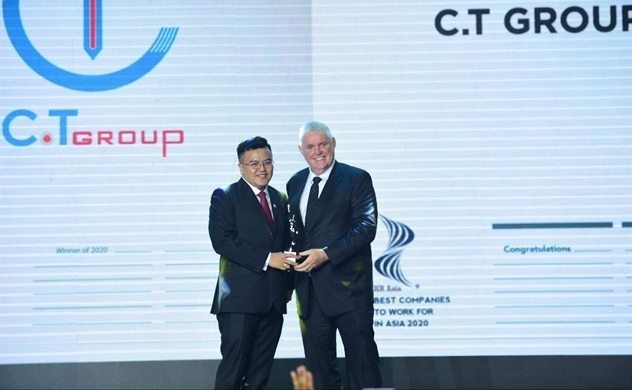 "C.T Group receives ""Best Company to Work For in Asia"" Award"