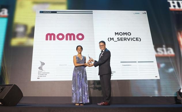 """Ví MoMo - Fintech Việt Nam duy nhất vào top """"Nơi làm việc tốt nhất châu Á 2020"""""""