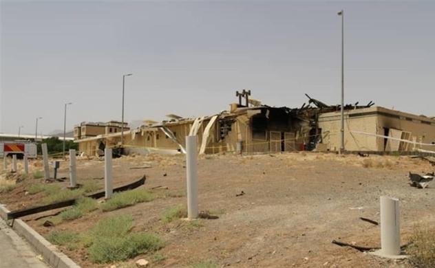 Vụ cháy bí ẩn cơ sở hạt nhân Iran