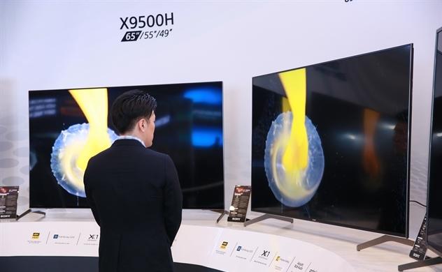 Sony trình làng loạt TV cao cấp mới tại Việt Nam