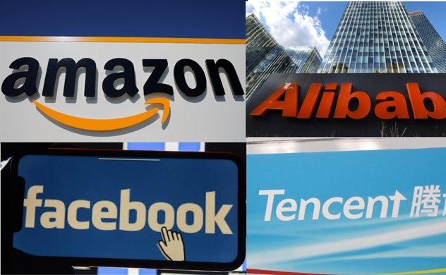 Facebook, Amazon và Alibaba