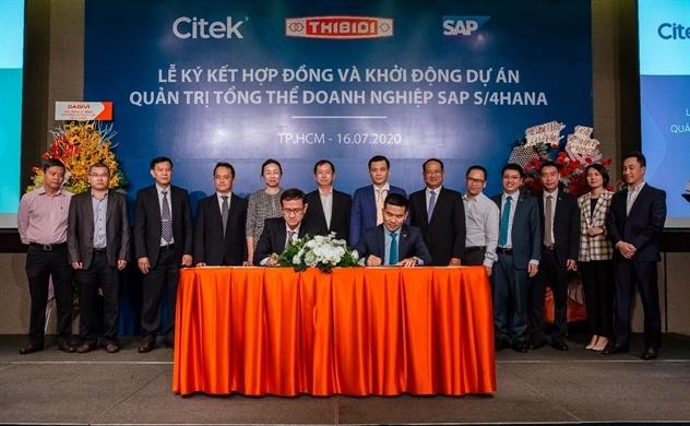 Citek và THIBIDI ký kết hợp đồng tư vấn chuyển đổi số với giải pháp quản trị tổng thể doanh nghiệp thế hệ mới (SAP S/4HANA)