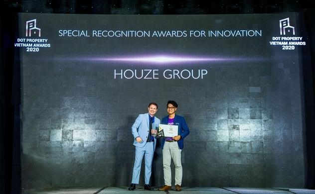 Houze Group nhận giải thưởng đổi mới sáng tạo 2020 trong lĩnh vực bất động sản
