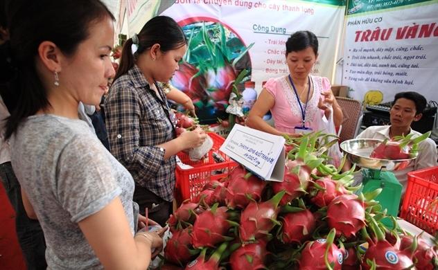 """Trái cây Việt """"được mùa"""" xuất khẩu"""