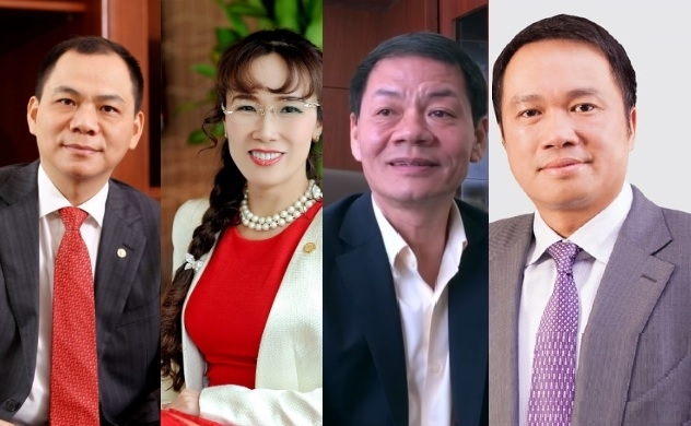 Tài sản của các tỉ phú giàu nhất Việt Nam thay đổi ra sao trong tháng 7?