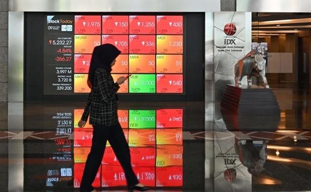 Thị trường chứng khoán sụt giảm chủ yếu do làn sóng lây nhiễm COVID-19 mới