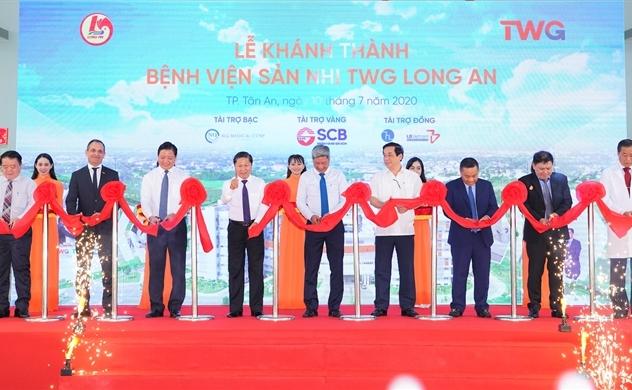 Khánh thành Bệnh viện Sản Nhi TWG Long An
