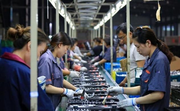 Cú sốc mới đối với lĩnh vực sản xuất của Trung Quốc