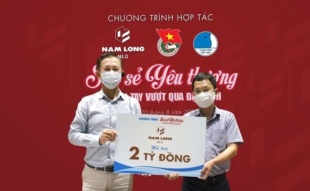Nam Long ủng hộ 5 tỉ đồng phòng chống dịch COVID-19