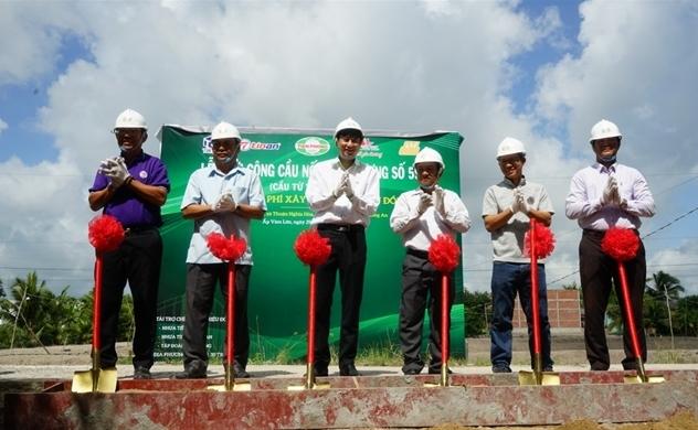 Nhựa Tiền Phong khởi công xây dựng cây cầu thứ 4 tại tỉnh Long An