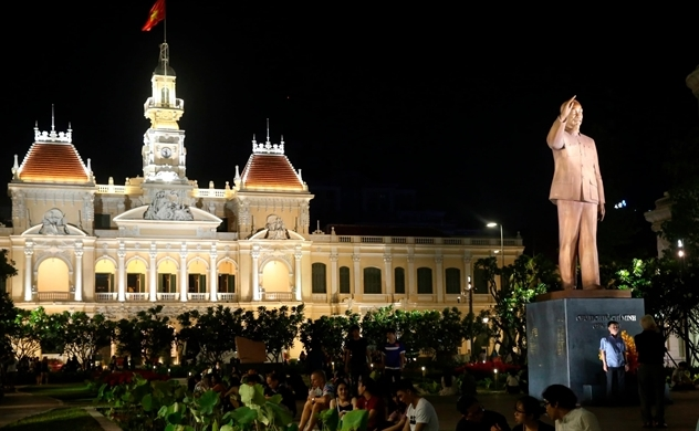 Vietnam's largest city pitches itself as regional financial hub after pandemic