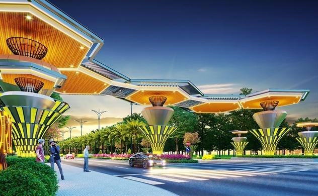 Tận hưởng sống xanh tại nhà phố Topaz Town của Gem Sky World