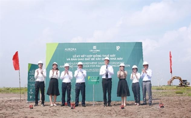 Tập đoàn Cát Tường ký và bàn giao đất xây dựng tại KCN Rạng Đông