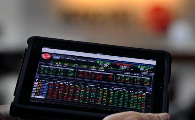 """Cổ phiếu cơ bản """"vẽ chart"""" VN-Index"""