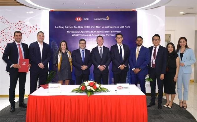 HSBC hỗ trợ sự phát triển ngành chăm sóc sức khỏe tại Việt Nam thông qua quan hệ đối tác song phương và tài trợ vốn lưu động với AstraZeneca