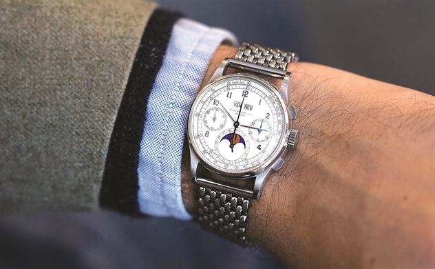 Thời của đồng hồ xa xỉ second-hand