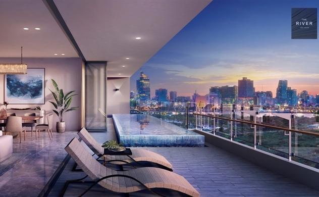 The Pool Villas tại Thủ Thiêm - Biệt thự nơi lưng chừng trời