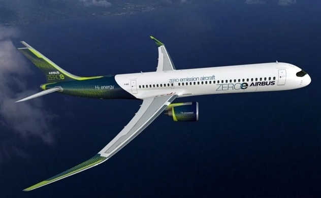 Airbus đặt mục tiêu cho máy bay chạy bằng hydro, không phát thải vào năm 2035