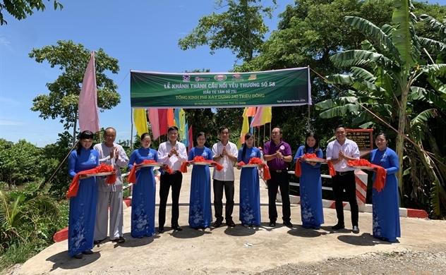 Nhựa Tiền Phong khánh thành Cầu nối yêu thương số 58 tại An Giang