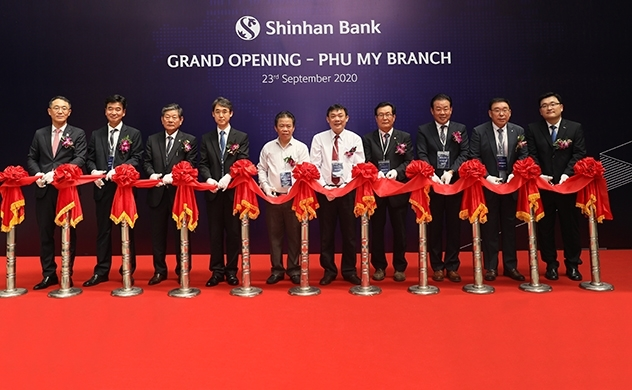 Shinhan Bank launches Phu My Branch in Ba Ria- Vung Tau