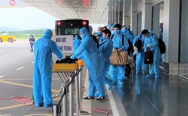 Vietnam confirms three new imported Covid-19 cases