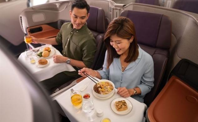 Singapore Airlines biến máy bay phản lực A380 thành nhà hàng