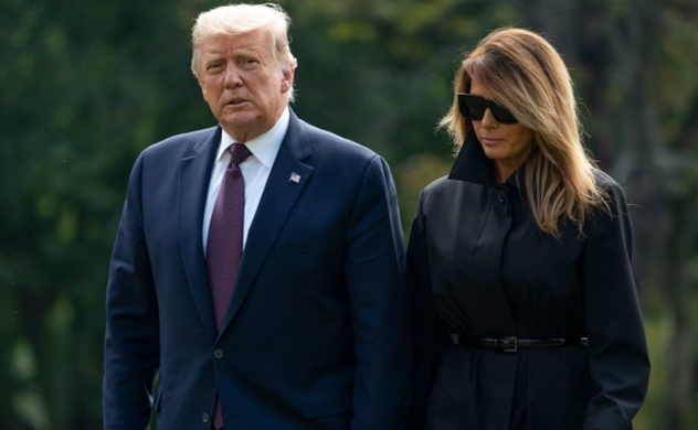 President Trump, first lady Melania test positive for coronavirus